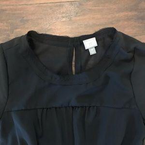Converse Dresses - Converse One Star black chiffon dress NWT